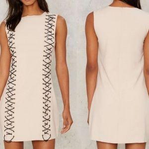 Nwt Jovonna London [Nasty Gal] Never Hide dress